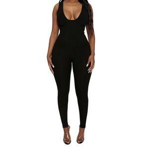 Pants - Plunge Bustier jumpsuit!!
